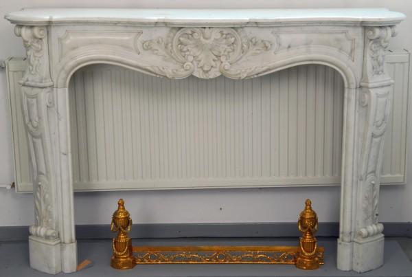 Stil: Louis XIV,  Farbe: weiß-carrara,  Ausführung: Marmor
