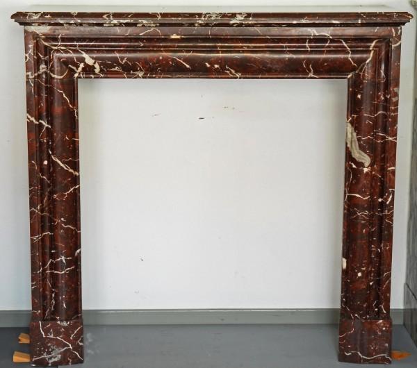 Stil: Renaissance, Farbe: belgisch-rot Weiß,  Ausführung: Marmor