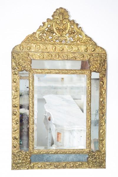 schöner venezianer spiegel aus dem 18. jahrhundert