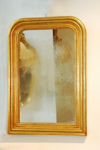 schlichter spiegel aus dem 19. jahrhundert