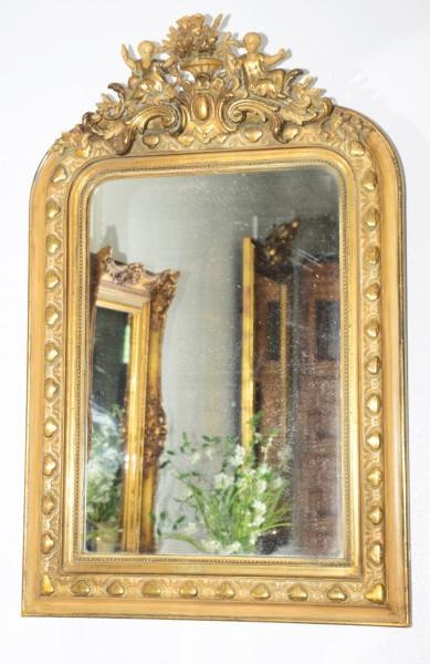 reich verzierter Spiegel