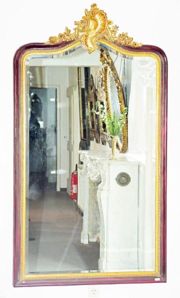 fein gearbeiteter spiegel aus der 1. hälfte des 19. jahrhundert