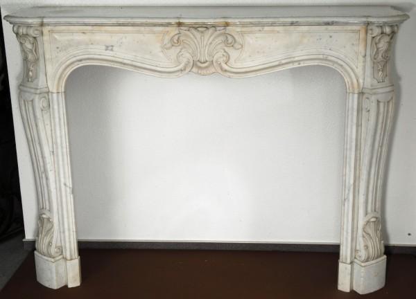 stil: louis XV, farbe: weiß,  ausführung:marmor
