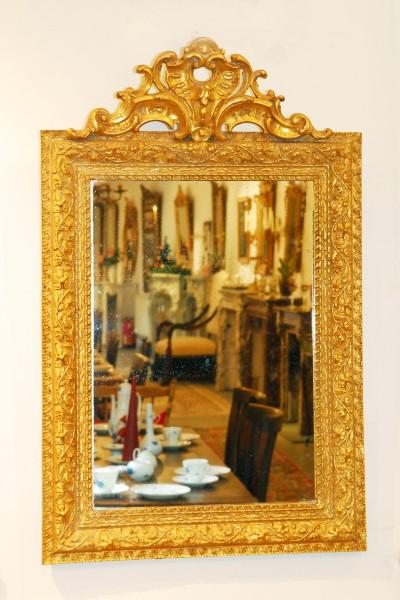 antiker spiegel goldrahmen 20. jahrhundert raum kaiserslautern