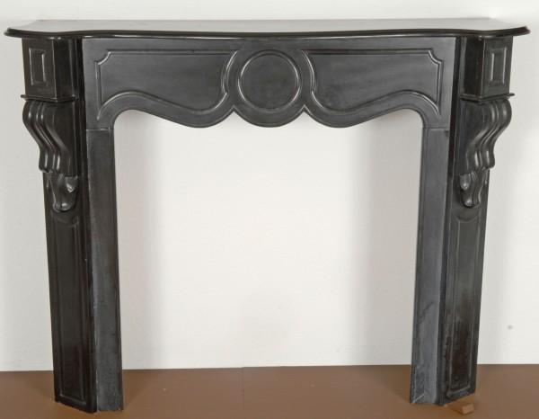 ca. 1820,   schwarzer  marmorkamin