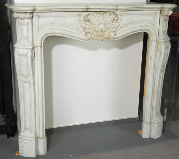 stil: louis XV, farbe: carrara-weiß,  ausführung: marmor