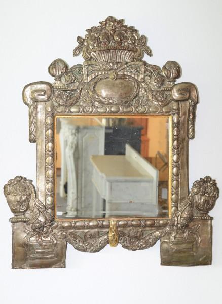aufwendig gearbeitetes spiegelpaar aus florenz, ca. 1780