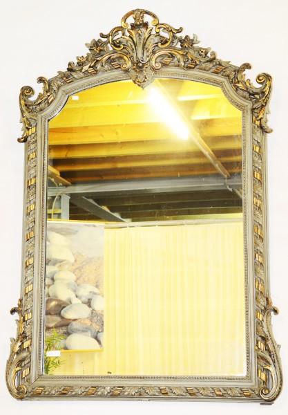 reich verzierter, goldener spiegel aus dem 18. jahrhundert