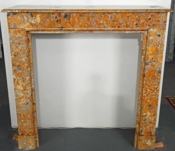 Stil: Louis XIII, Farbe: lachs braun,  Ausführung: Marmor