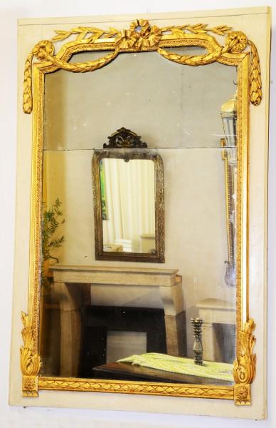 schön gearbeiteter spiegel aus dem 19. jahrhundert
