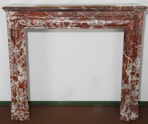 Stil: Louis III, Farbe: zart-belgisch-rot,  Ausführung: Marmor