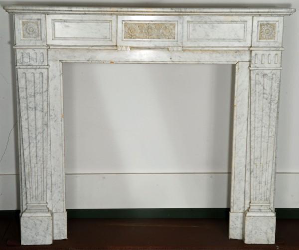Stil: Louis XV Farbe: weiß Ausführung: Marmor