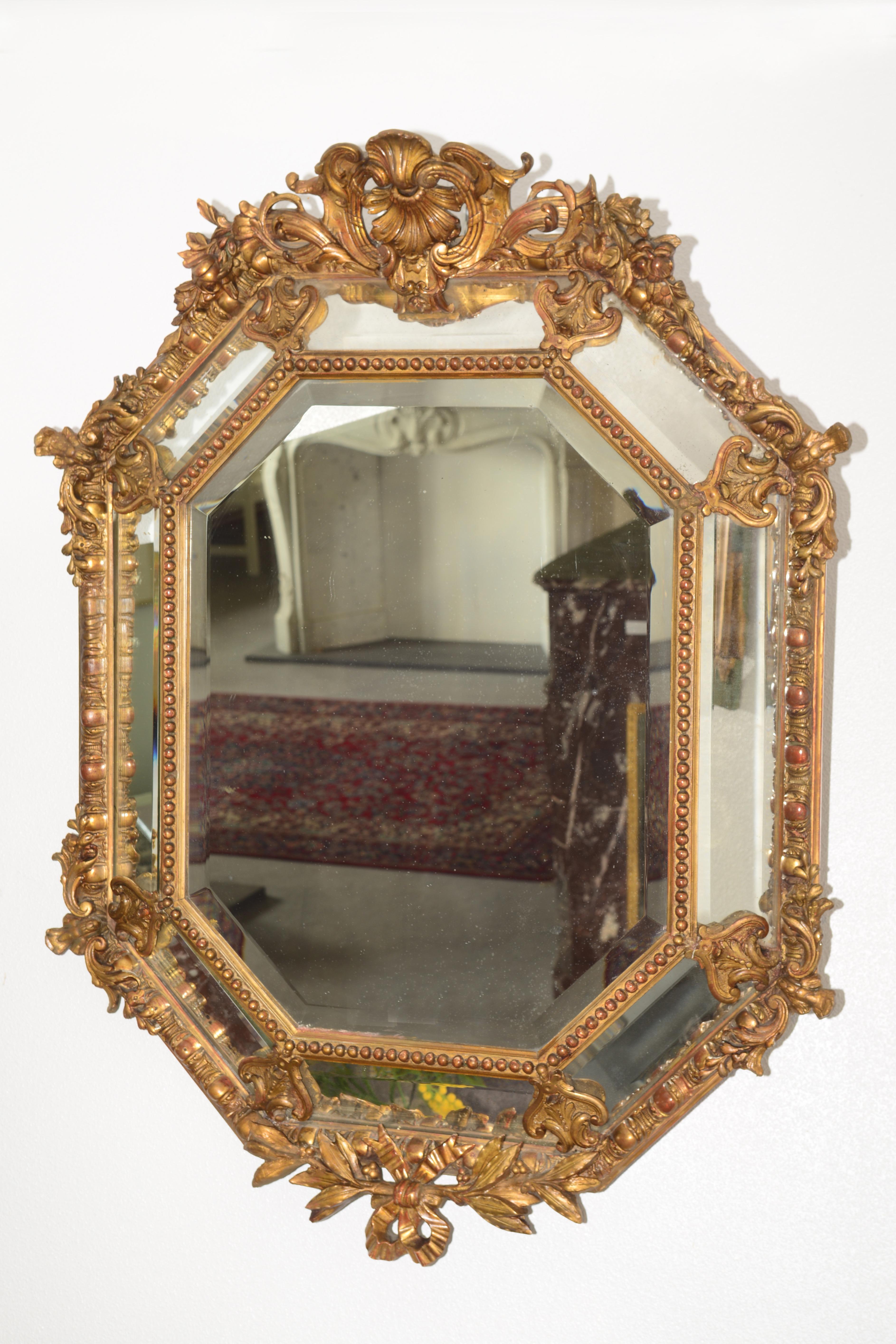 antiker spiegel u 74 antike spiegel oellers antik. Black Bedroom Furniture Sets. Home Design Ideas